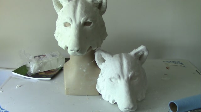 Reproducing Masks in Silicone Molds - An Experiment