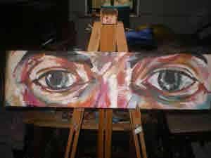 Pedro's paper mache canvas