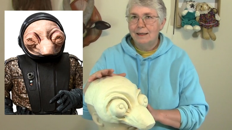 paper mache star wars mask