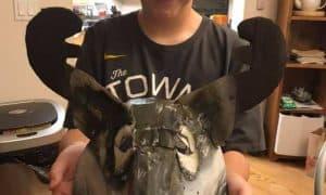 Ethan's Sled Dog Mask