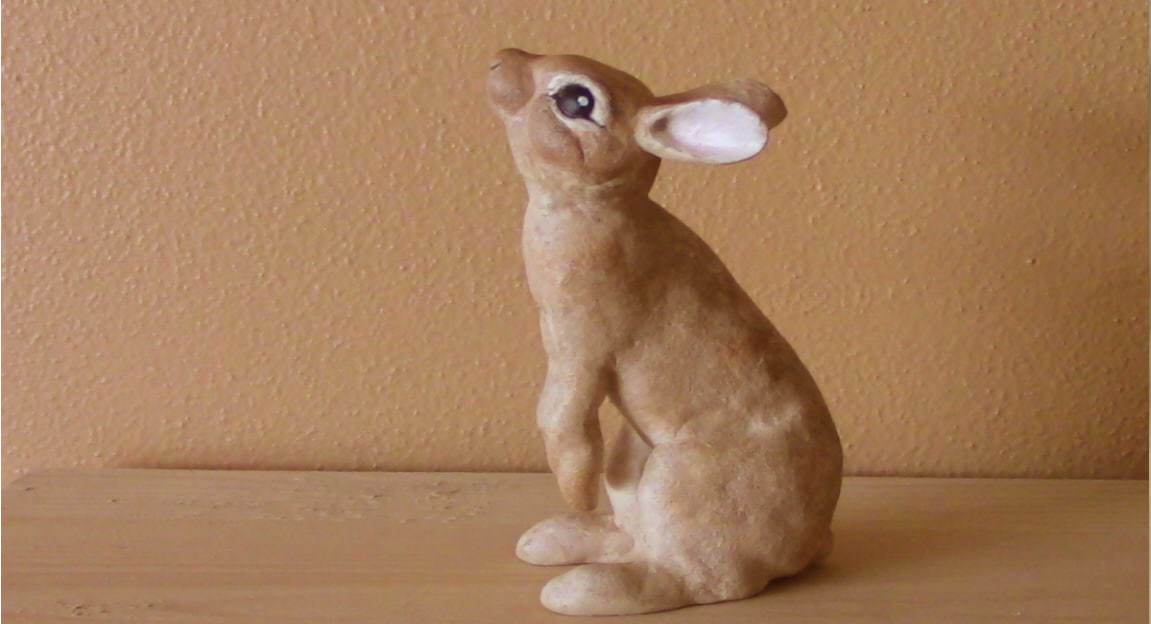 Rabbit Pattern for Apoxie Sculpt