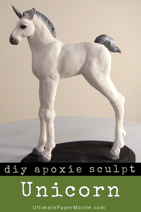 diy apoxie sculpt unicorn