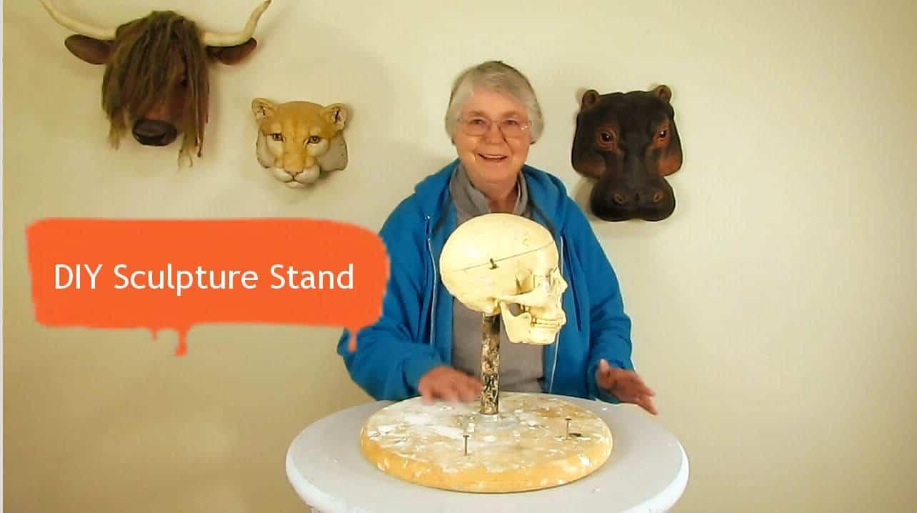 DIY Sculpting Stand