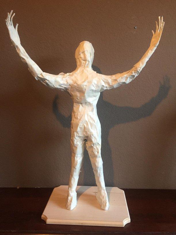 Lawrence of Arabia Paper Mache Sculpture