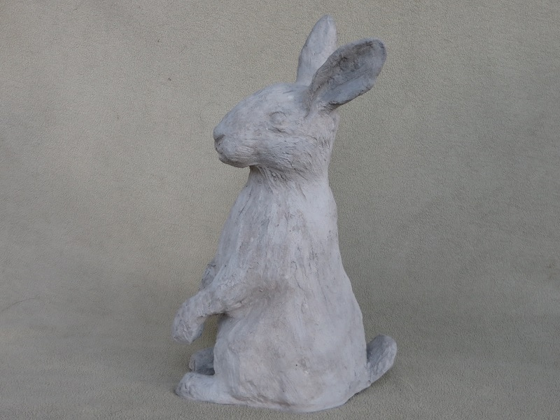 waterproof rabbit sculpture