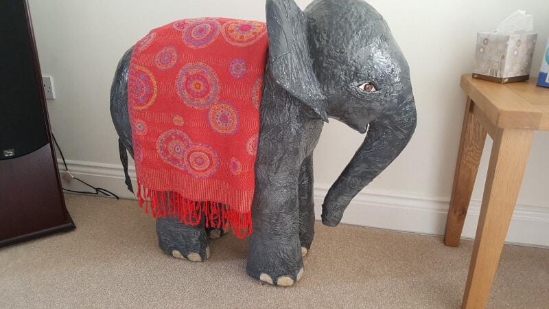 Andrew's Elephant, Finished