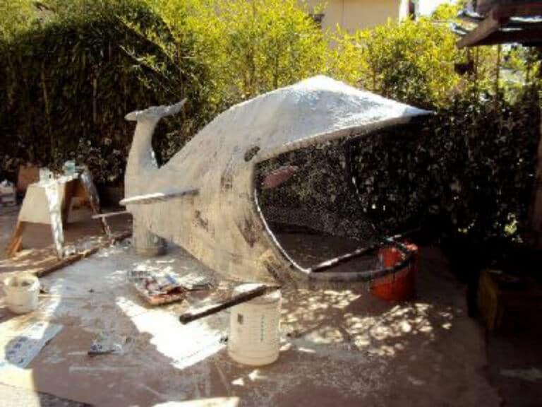 The Whale o' Love: Waterproof Paper Mache