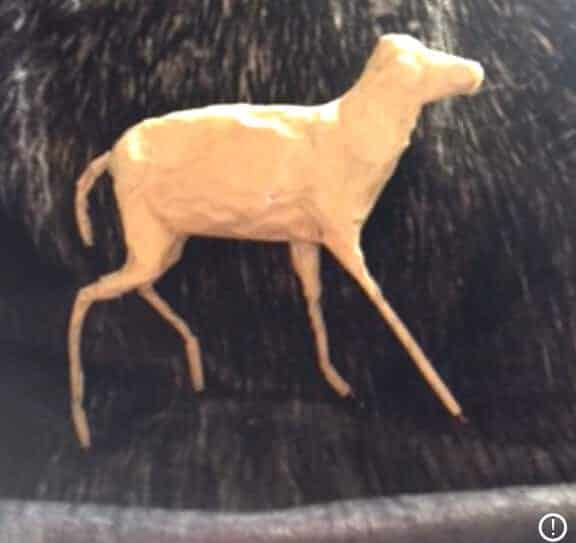 Adding Foil to the Deer Armature.