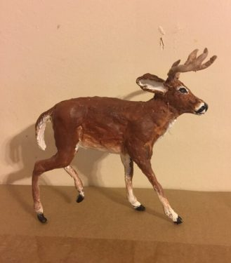 The deer is finished!