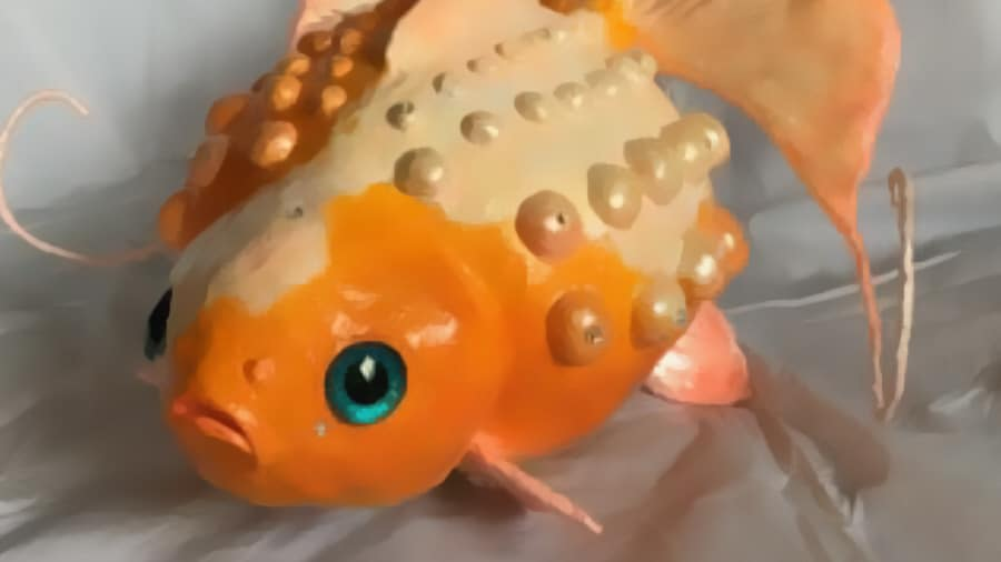 paper mache goldfish tutorial