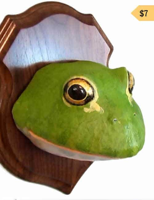 Giant African Bullfrog Wall Sculpture Pattern