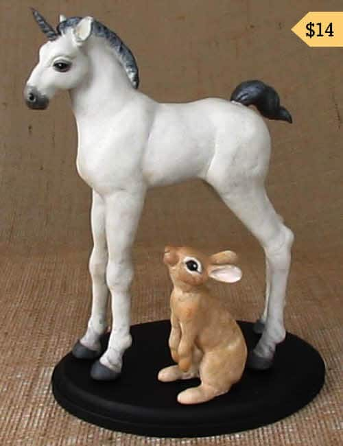 Unicorn and Rabbit Apoxie Sculpt Patterns