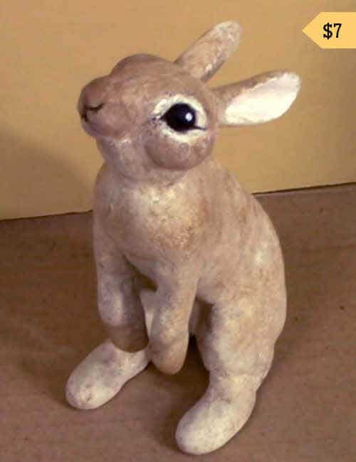 Mini-Bunny Apoxie Sculpt Pattern