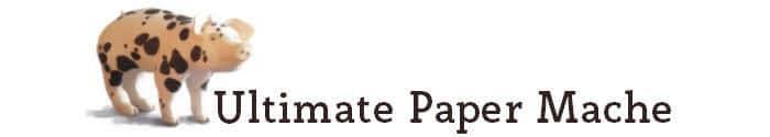 paper mache pig logo
