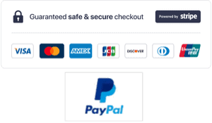 Pay Securely with Stripe or PayPal