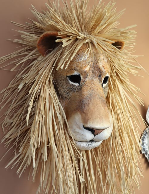 Paper Mache Lion Mask Pattern Ultimate