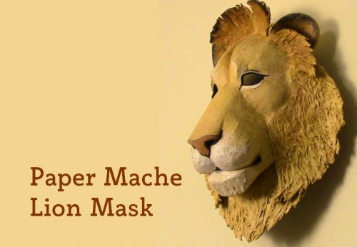 Make a lion mask.