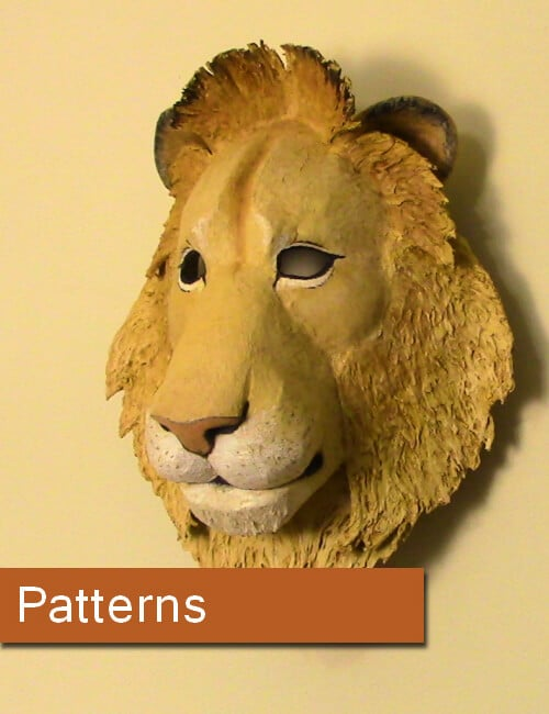 patterns for paper mache