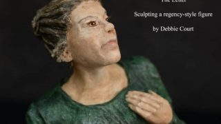 How to make a paper mache figure sculpture.