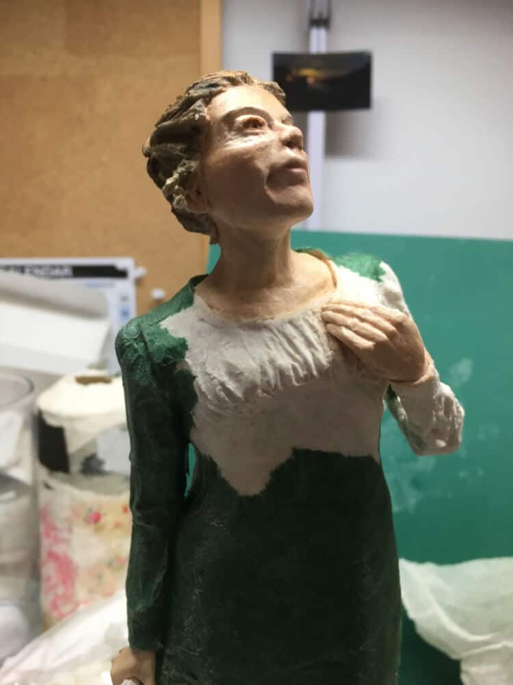 How to Sculpt a Regency-Style Figure with Paper Mache Clay