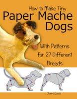 How to sculpt paper mache dogs