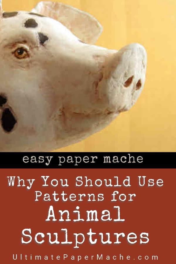 Patterns for animal sculptures