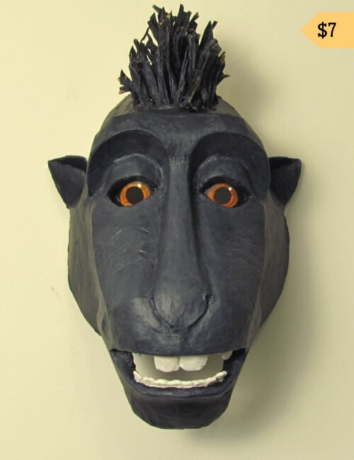 Selfie Monkey Mask Pattern