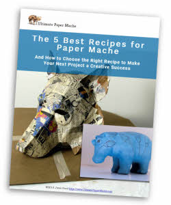 5 best recipes for paper mache