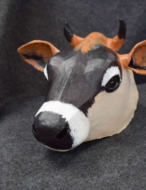 Jersey cow mask