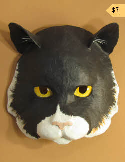 pattern for cat mask