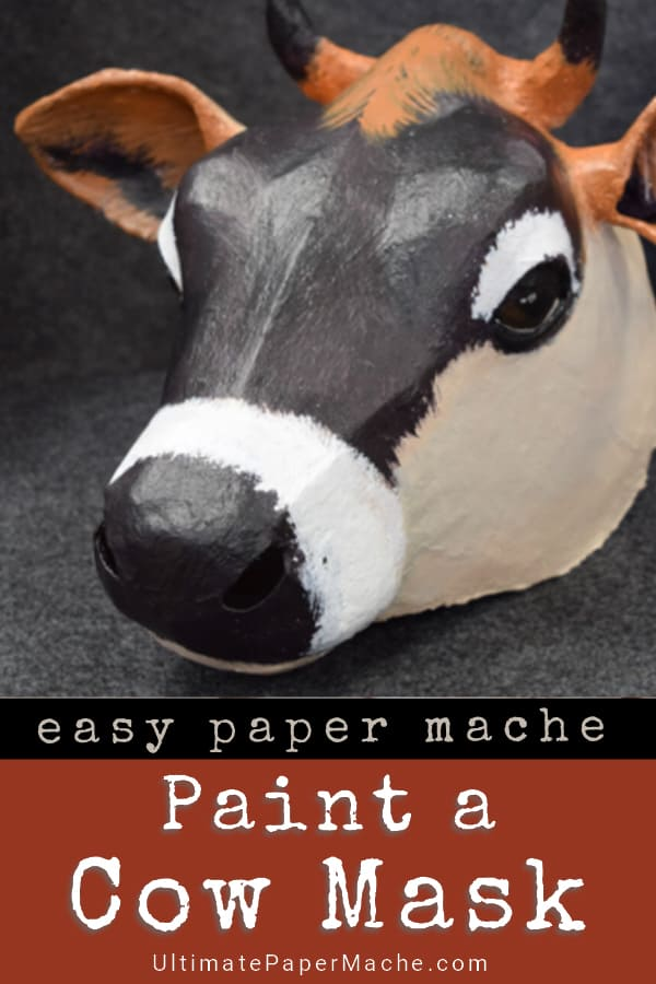 Paint a cow mask