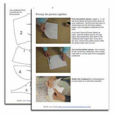 Make a Paper Mache Pig Wall Sculpture