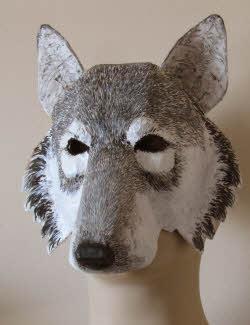 wolf mask pattern 3sm