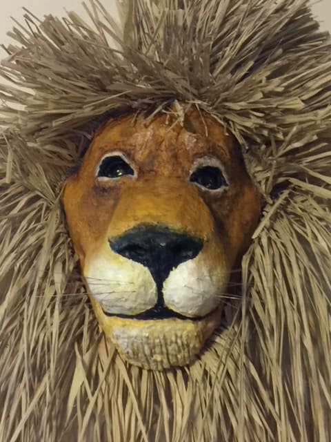 Lion Mask made by Linda Bunnell