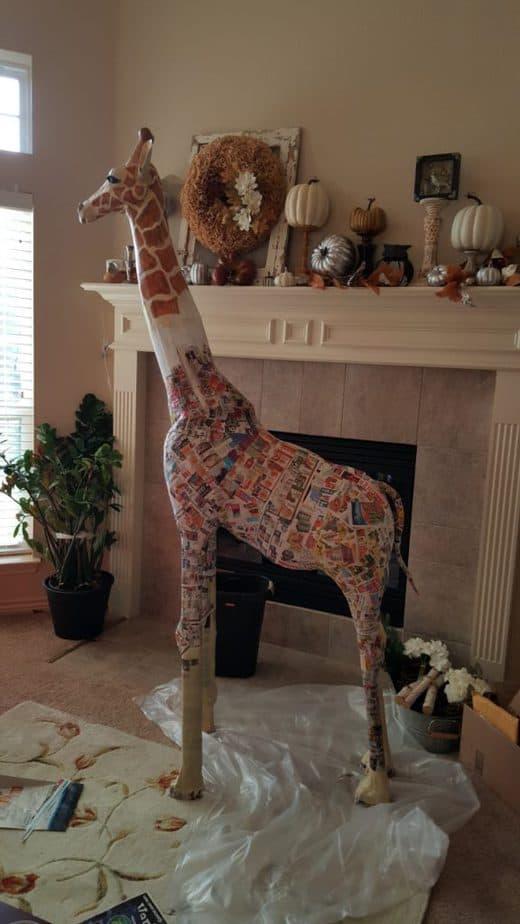 How Lezlei Young Made Camilla, a Giraffe for Vacation Bible School