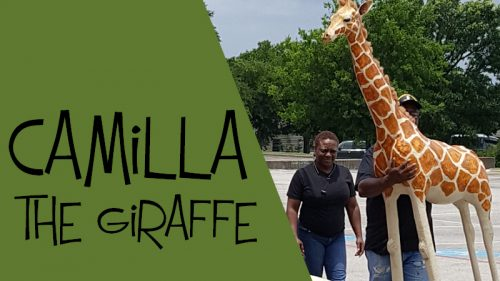 Make a giraffe for VBS