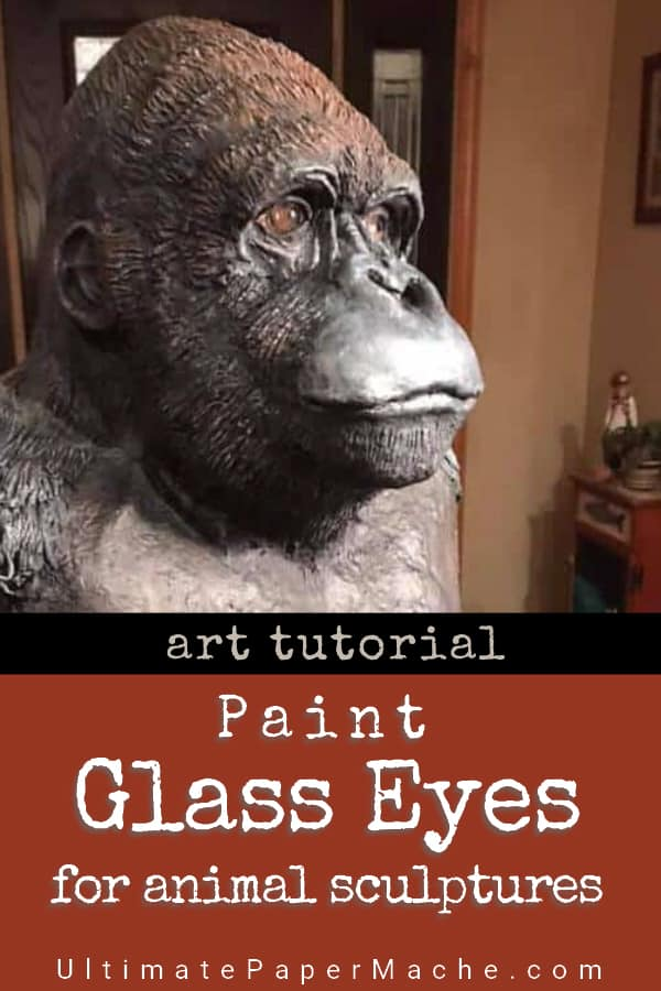 How Pia Paints Glass Eyes for Her Animal Sculptures