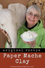 Paper Mache Clay Recipe