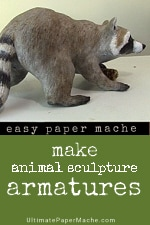 Make Armatures for Animal Sculptures