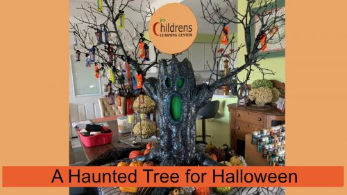 A Haunted Tree for Halloween