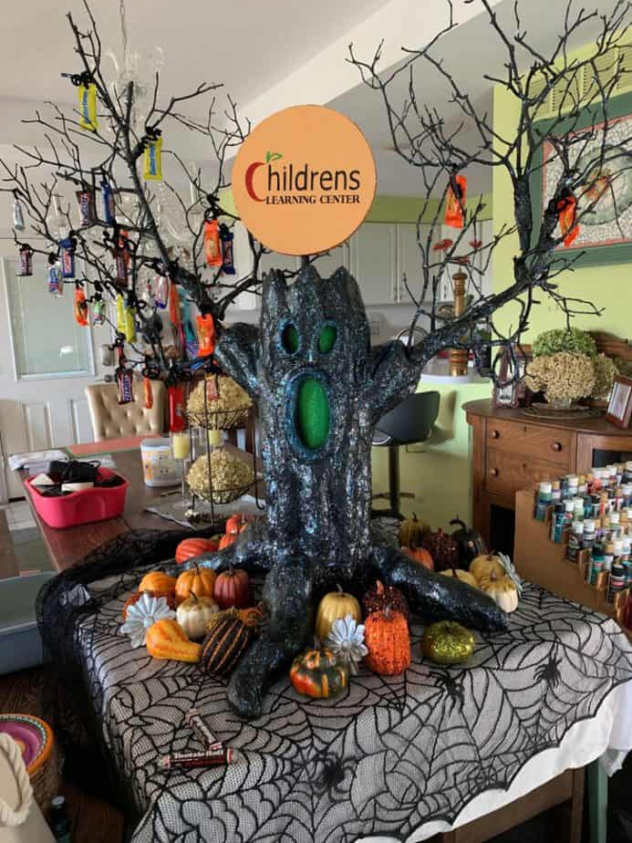 The finished Haunted Tree