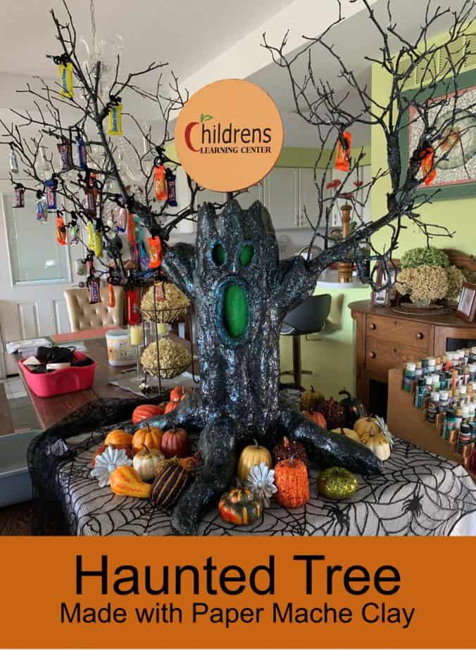 DIY Haunted Tree for Halloween