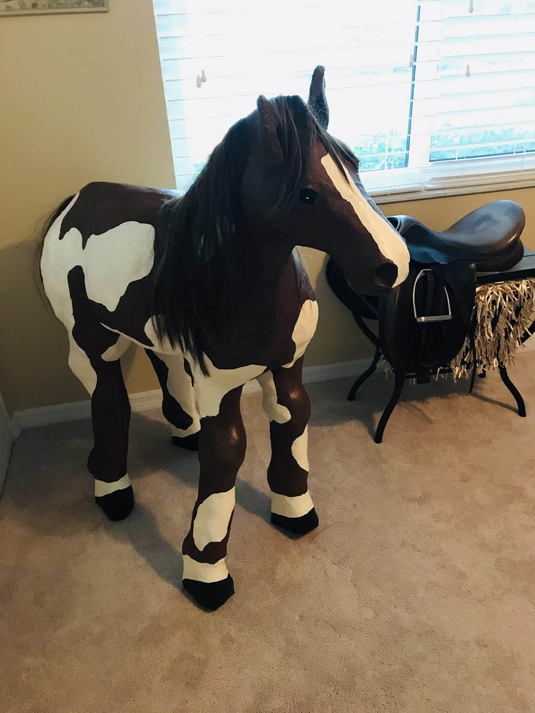Paper Mache Horse Maddie