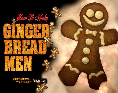 Giant Ginger Bread Men DIY