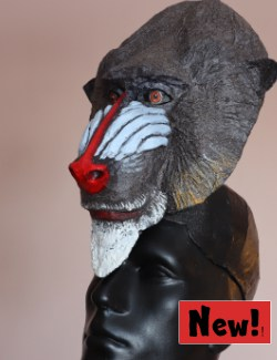 Mandrill Headdress Mask for Rafiki