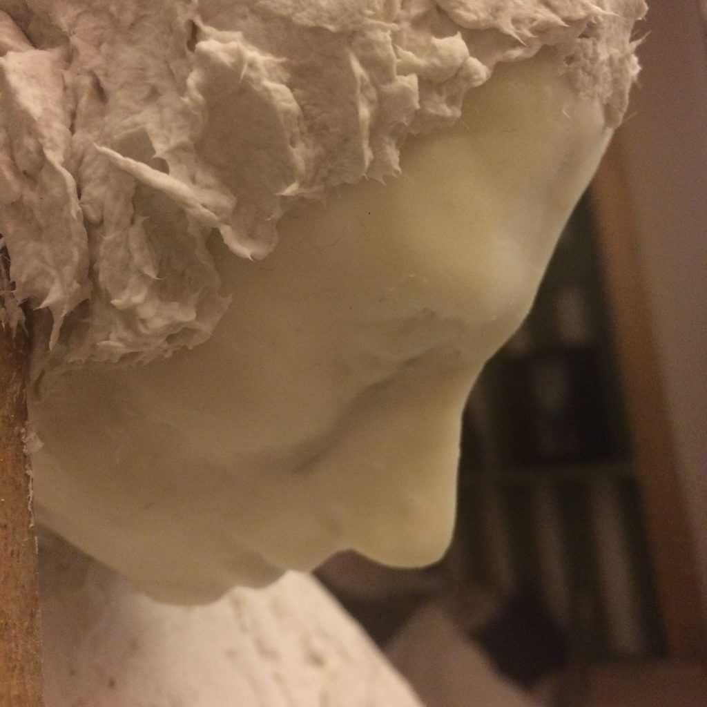 Face sculpture for nativity scene2