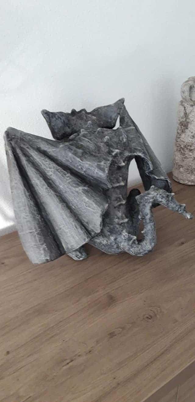 Paper Mache Gargoyle