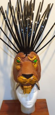 Scar Headdress Mask