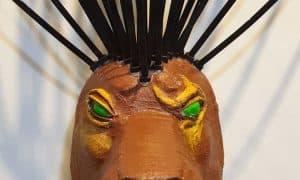 Scar Headdress Mask
