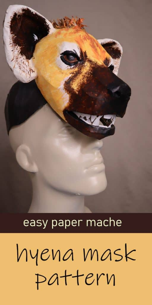 Hyena mask pattern